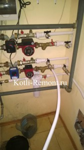 Пере обвязка системы отопления