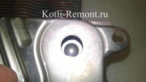 Результат промывки вторичного теплообменника