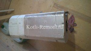 Демонтированный бойлер газового котла Baxi Nuvola 3 Comfort